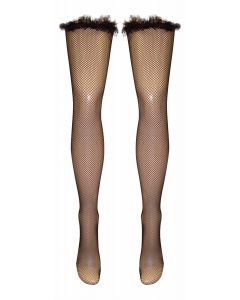 Frou Frou Top Fishnet Hold Ups